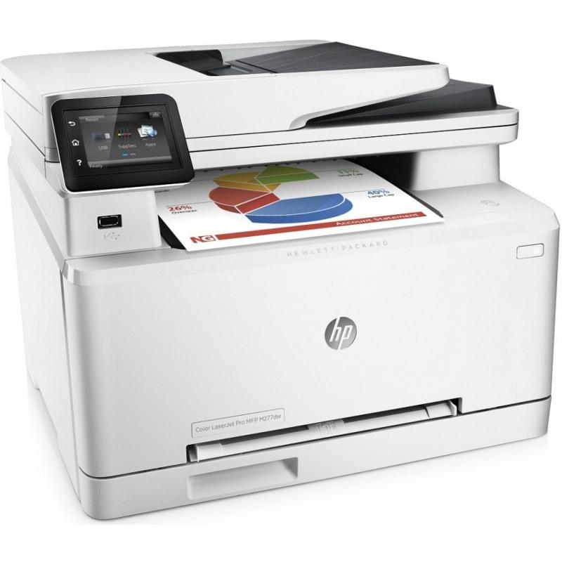 Multifunkční tiskárna HP Color LaserJet Pro M277d Barevná multifunkční laserová tiskárna, A4, 18ppm, 600x600, USB, LAN, Wifi, Duplex, fax B3Q11A