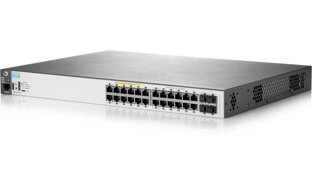 Switch HP 2530-24G PoE+ Switch, 24xRJ45 10/100/1000 + 4xRj45 SFP, J9773A J9773A