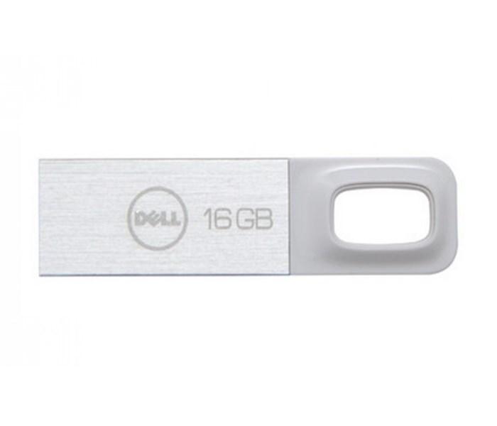 Flash disk DELL 100 Series 16 GB Flash disk, 16 GB, USB, kov+plast, záruka 5 let, bílý A8200971
