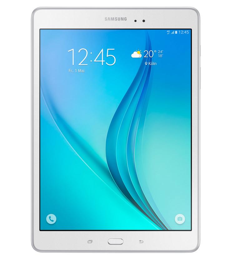 Tablet SAMSUNG Galaxy Tab A SM-T555 Tablet, Qualcomm, 2GB, 16GB, 9,7, GPS, BT, LTE, Wi-Fi, Android 5.0, bílý SM-T555NZWAXEZ