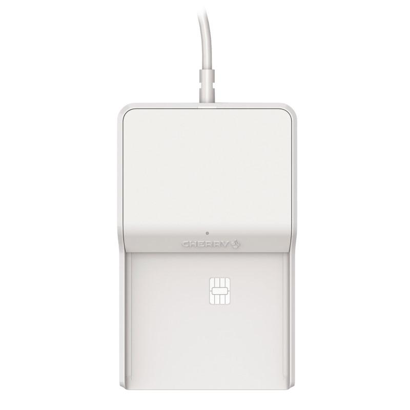 Čtečka čipových karet CHERRY TC 1100 Čtečka čipových karet, USB, formáty PC/SC, CCID, CT-API, bílá JT-0100WB-0