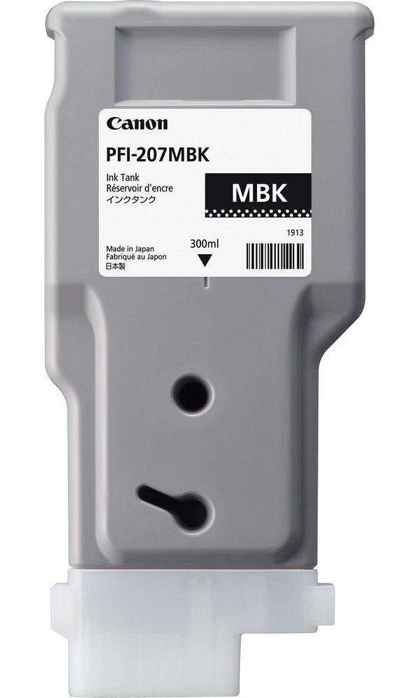 Canon  Zásobník inkoustu PFI-207MBK 300ml