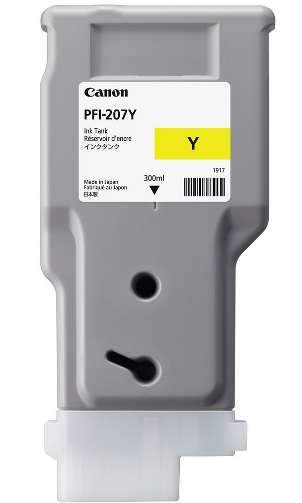 Canon  Zásobník inkoustu PFI-207Y 300ml