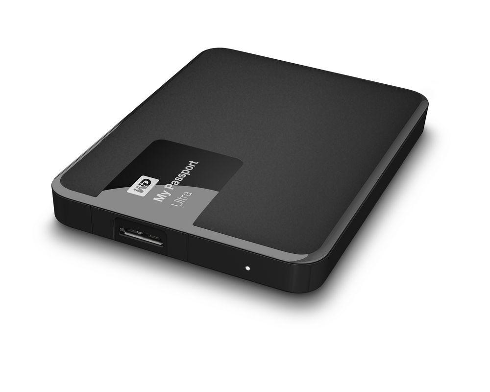 Pevný disk WD My Passport Ultra 500GB černý Pevný disk, externí 2.5, USB 3.0, černý WDBWWM5000ABK-EESN