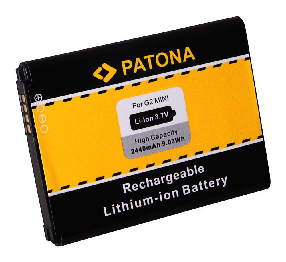 Baterie PATONA kompatibilní s LG BL-59UH Baterie, pro mobilní telefon LG G2 Mini D620, nahrazuje BL-59UH, 2440mAh, 3.7V, Li-Ion PT3091