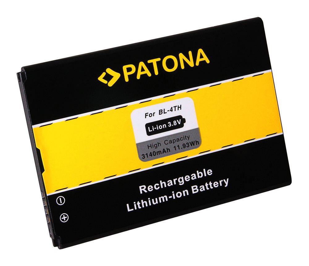Baterie PATONA kompatibilní s LG BL-48TH Baterie, pro mobilní telefon LG Optimus G Pro, nahrazuje BL-48TH, 3140mAh, 2.8V, Li-Ion PT3093