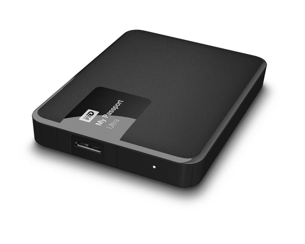 Pevný disk WD My Passport Ultra 2TB černý Pevný disk, externí 2.5, USB 3.0, černý WDBBKD0020BBK-EESN