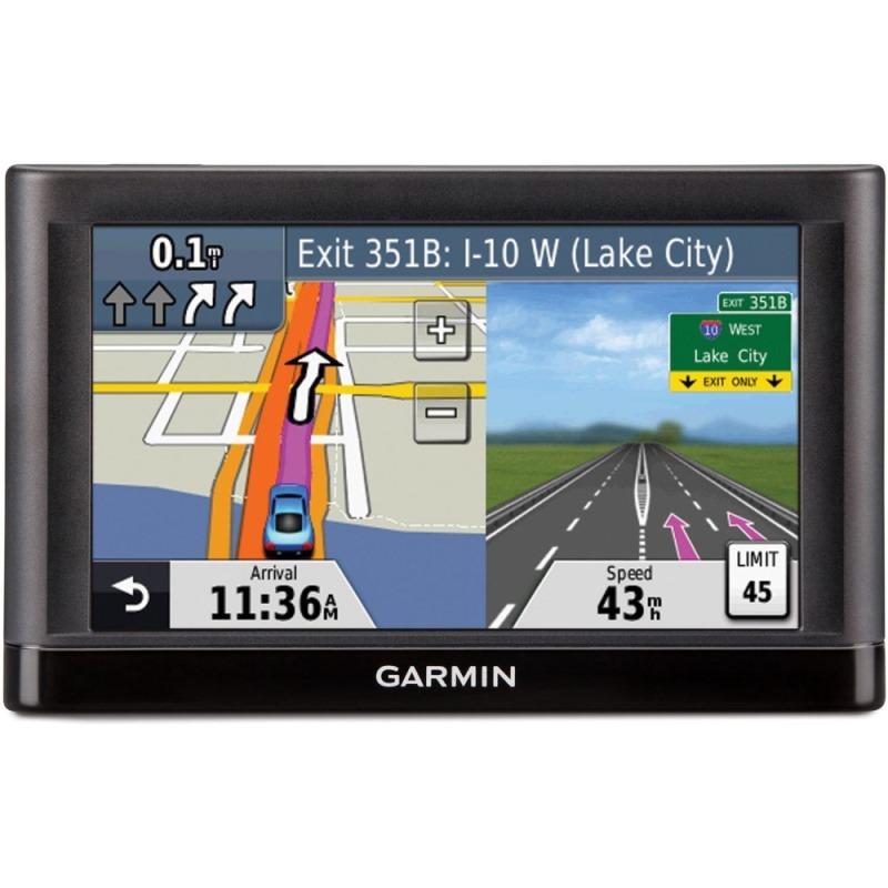 Autonavigace GARMIN nüvi 57T Lifetime Europe20 Autonavigace, 5, podrobné plánování tras, náhledy křižovatek, řazení do jízdních pruhů, mapa 20 zemí evropy s aktualizací zdarma 010-01400-21