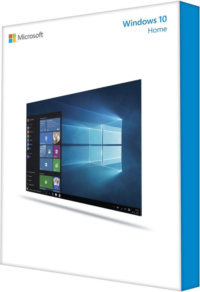 Operační systém MS Windows 10 Home 32-bit Operační systém, CZ, OEM, 32-bit KW9-00182