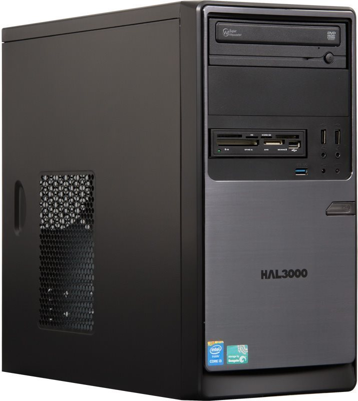 HAL3000 ProWork W10 Počítač, Intel i3-4170, 4GB, 1TB, DVD, CR, W10 PCHS20266