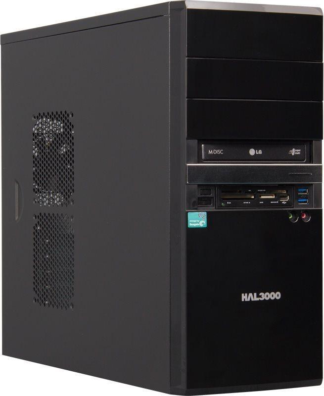 HAL3000 EliteNet W10 Počítač, AMD A8-7600, 4GB, 1TB, Radeon R7, DVD, W10 PCHS20376