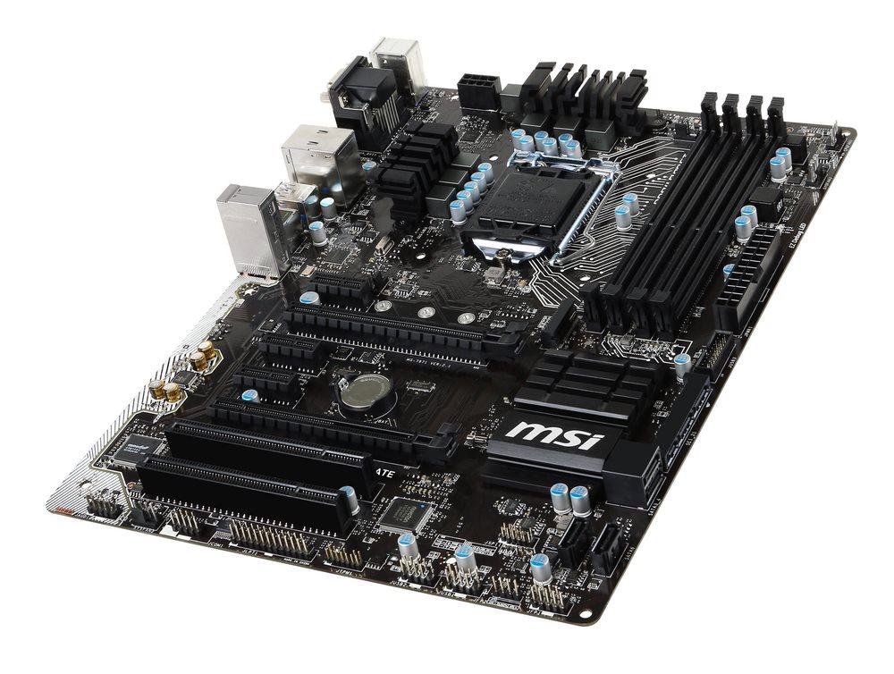 Základní deska MSI Z170A PC MATE Základní deska, Intel Z170, LGA1151, USB3.1, ATX Z170A PC MATE