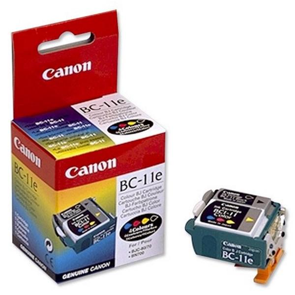 Cartridge inkoustová náplň Canon BC 11e - tisk. hlava barevná, BJC 50,70,80,85 0907A002