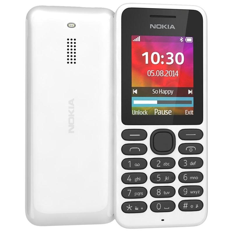 Mobilní telefon Nokia 130 Mobilní telefon, 1,8 TFT, bílý A00022172