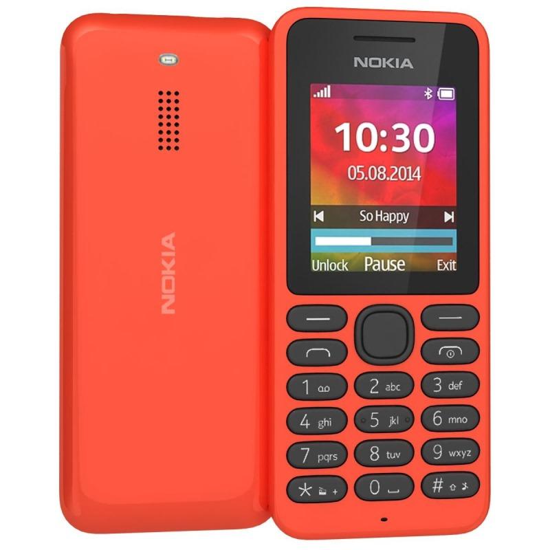 Mobilní telefon Nokia 130 Dual SIM Mobilní telefon, 1,8 TFT, červený A00022156