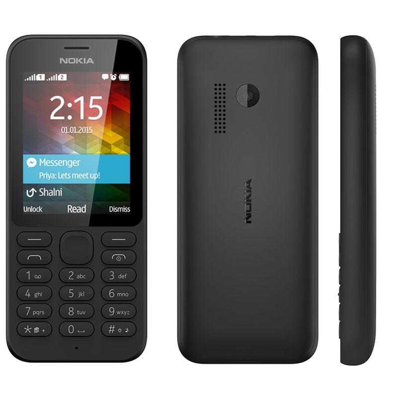 Mobilní telefon Nokia 215 Mobilní telefon, 2,4 TFT, 8GB, černý A00023800