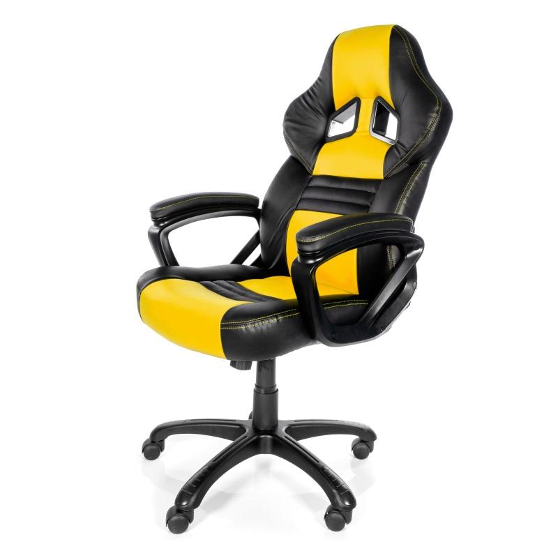 Herní židle Arozzi MONZA Herní židle, černožlutá
