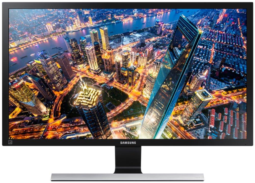 LED monitor SAMSUNG U28E590 28 LED monitor, UHD 4K, 3840x2160, 16:9, 1ms, 370cd/m2, TN, 2x HDMI, 1x DP LU28E590DS/EN