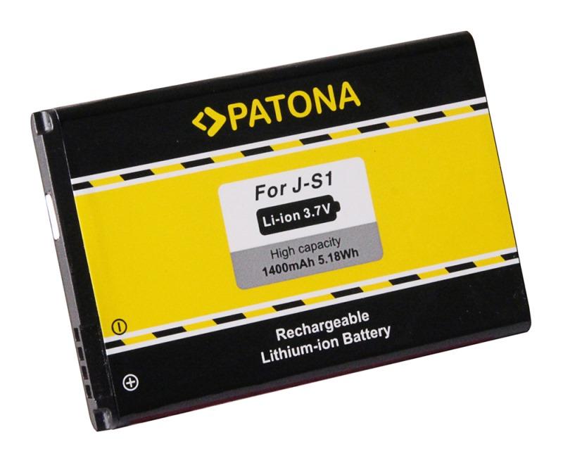 Baterie PATONA kompatibilní s Blackberry J-S1 Baterie, pro mobilní telefon Blackberry Curve 9320, Blackberry Curve 9720, 1400mAh 3,7V Li-Ion PT3101