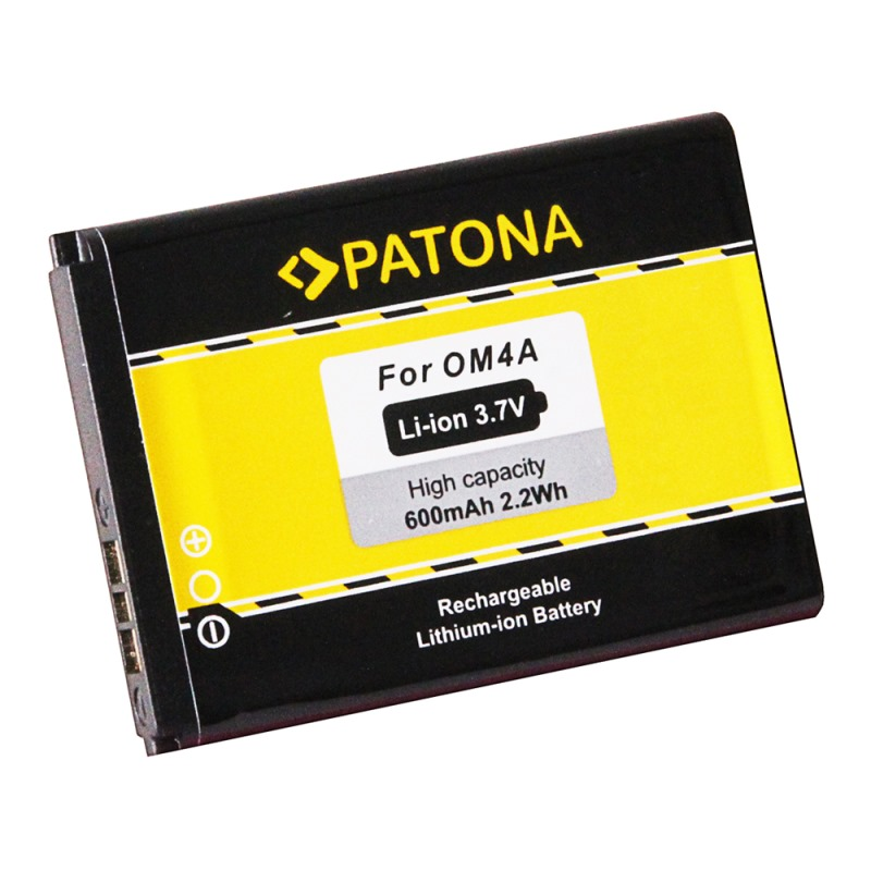 Baterie PATONA kompatibilní s Motorola OM4A Baterie, pro mobilní telefon Motorola WX160, WX180, WX260, WX280, WX308, WX390, WX395, EX210, EX211, Gleam, Gleam Plus, 600mAh, 3,7V, Li-Ion PT3106