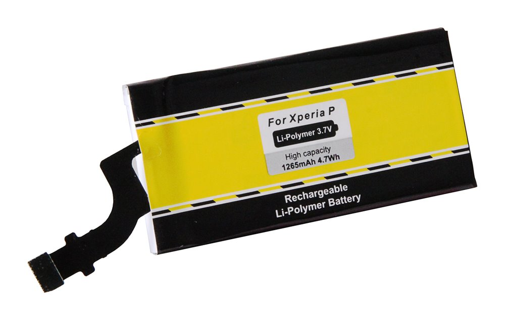 Baterie PATONA kompatibilní s Sony Xperia P, LT22i Baterie, pro mobilní telefon Sony Xperia P, LT22i, 1265mAh, 3,7V, Li-Pol PT3108