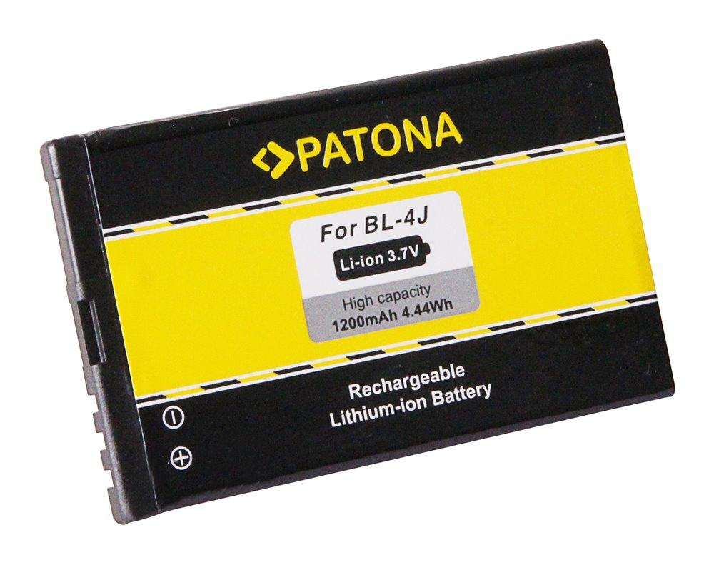 Baterie PATONA kompatibilní s Nokia BL-4J Baterie, pro mobilní telefon Nokia Lumia 620, C6-00, 1200mAh, 3,7V, Li-Ion PT3109