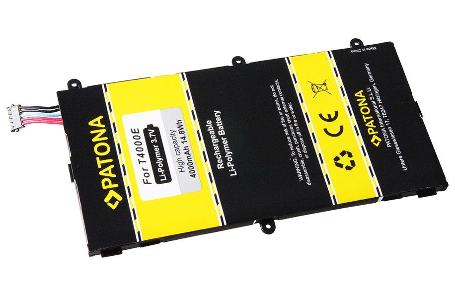 Baterie Patona pro Samsung Galaxy Tab 3 Baterie pro mobil Samsung Galaxy Tab 3 Kids, Galaxy Tab 3 7.0, SM-T210, SM-T2105, SM-T210R, SM-T211, 4000mAh, 3,7V Li-Ion PT3113