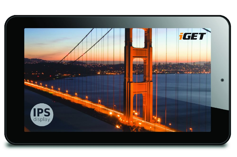 Tablet iGET Tablet Smart S72 Tablet, 7 HD, IPS, 1024x600, Quad-Core, 1GB, 8GB, Android 5.1 S72