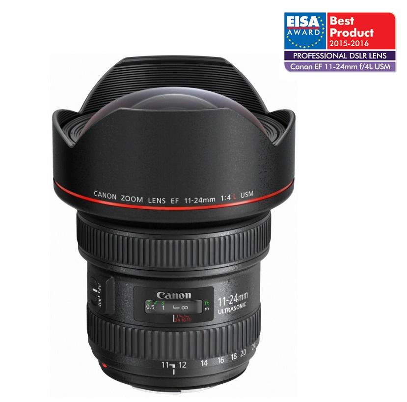 Objektiv Canon EF 11-24mm f/4.0 L USM Objektiv, formát EF, řada L, 11-24 mm, f/4.0, ZSM 9520B005