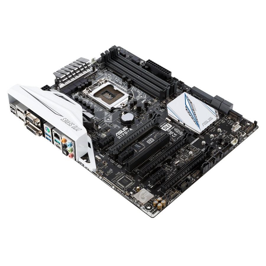 Základní deska ASUS Z170-A Základní deska, Intel Z170, LGA1151, DDR4 3400 OC MHz, ATX 90MB0LS0-M0EAY0