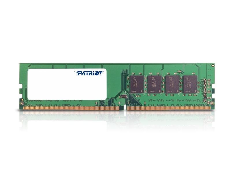 Operační paměť PATRIOT Signature DDR4 8 GB Operační paměť, DDR4, 8GB, 2133MHz, CL15, DIMM PSD48G21332
