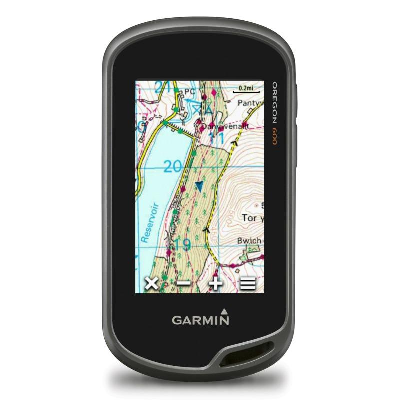 Turistická navigace GARMIN Oregon 600 Turistická navigace, 3 displej, 2 x AA, mapa TOPO Czech 010-01066-99