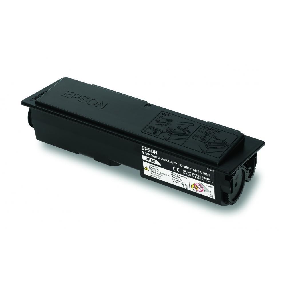 Toner Epson C13S050585 černý Toner, originální, pro Epson M2300, M2400, MX20, 3000 stran, černý, return C13S050585