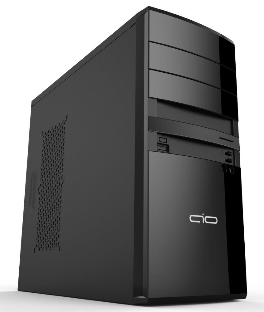 Skříň AIO Bohemian TAB01 High Gloss Black Skříň, Middle tower, bez zdroje, ATX, 8 cm ventilátor, 2x USB 3.0, černá