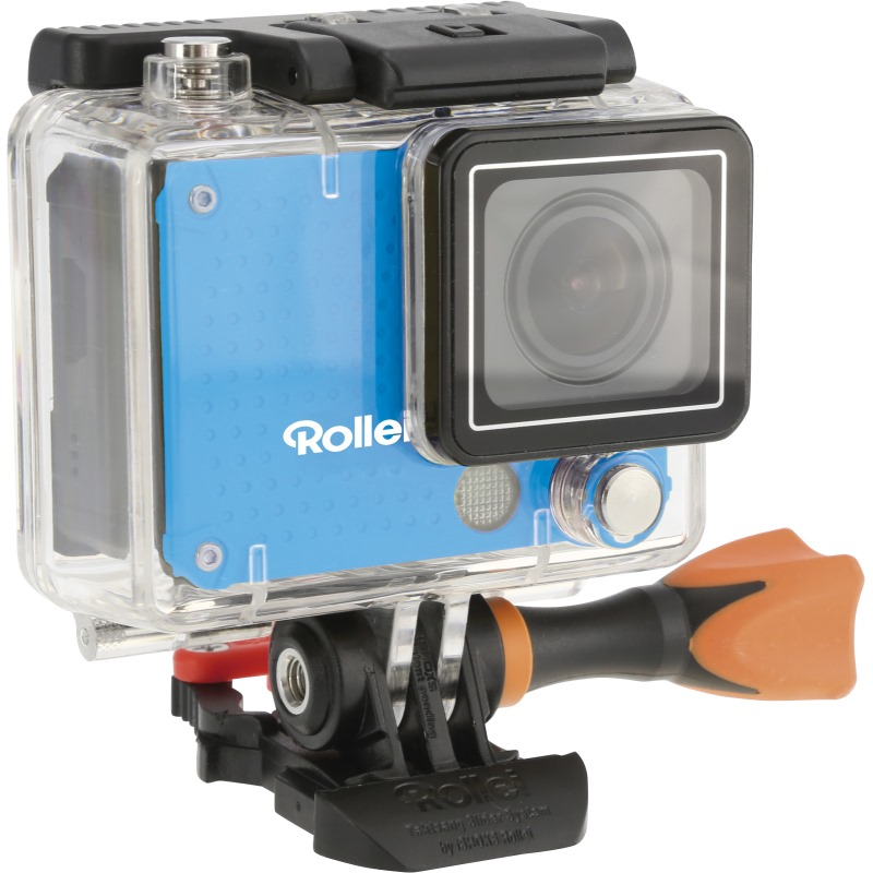 Kamera Rollei Actioncam 420 Kamera, outdoor, 4K, FULL HD 1080/60 fps, 170, 40m pzd., Wi-Fi, Dál.ovl, CZ menu, modrá 40290