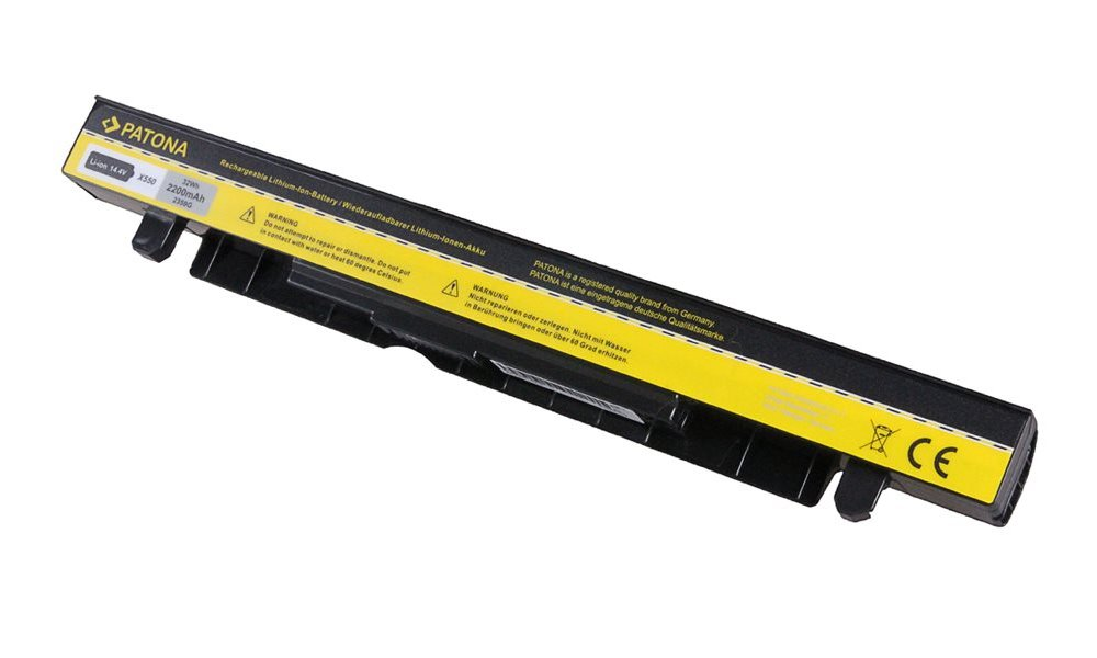 Baterie PATONA pro Asus 2200mAh Baterie, pro notebook Asus A41-X550, 2200mAh, Li-Ion, 14.4V PT2359