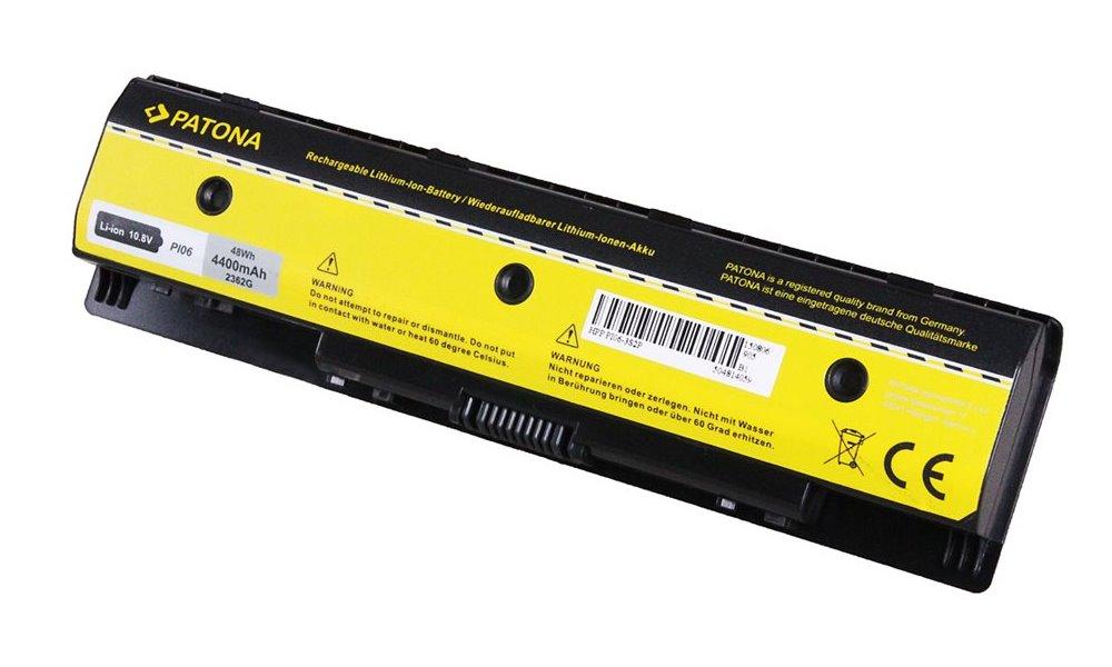 Baterie PATONA pro HP 4400 mAh Baterie, pro notebook, 4400mAh, Li-Ion, 10,8V, 4-článková, pro HP PavilIon 14, kompatibilní s baterií 709988-541