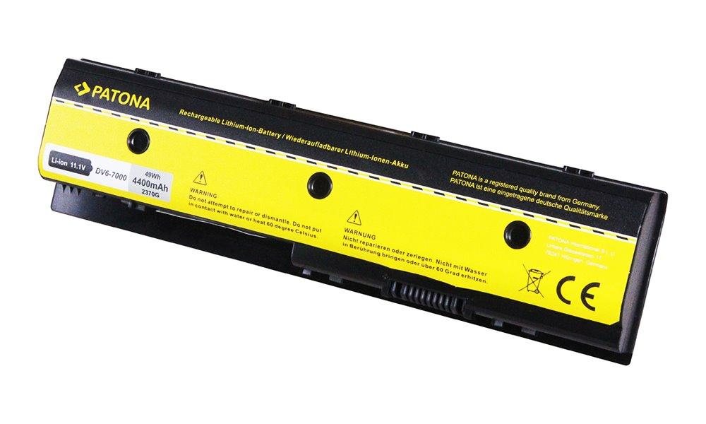 Baterie PATONA pro HP 4400mAh Baterie, pro notebook HP ENVY DV6-7200, 4400mAh, Li-lon, 11.1V PT2370