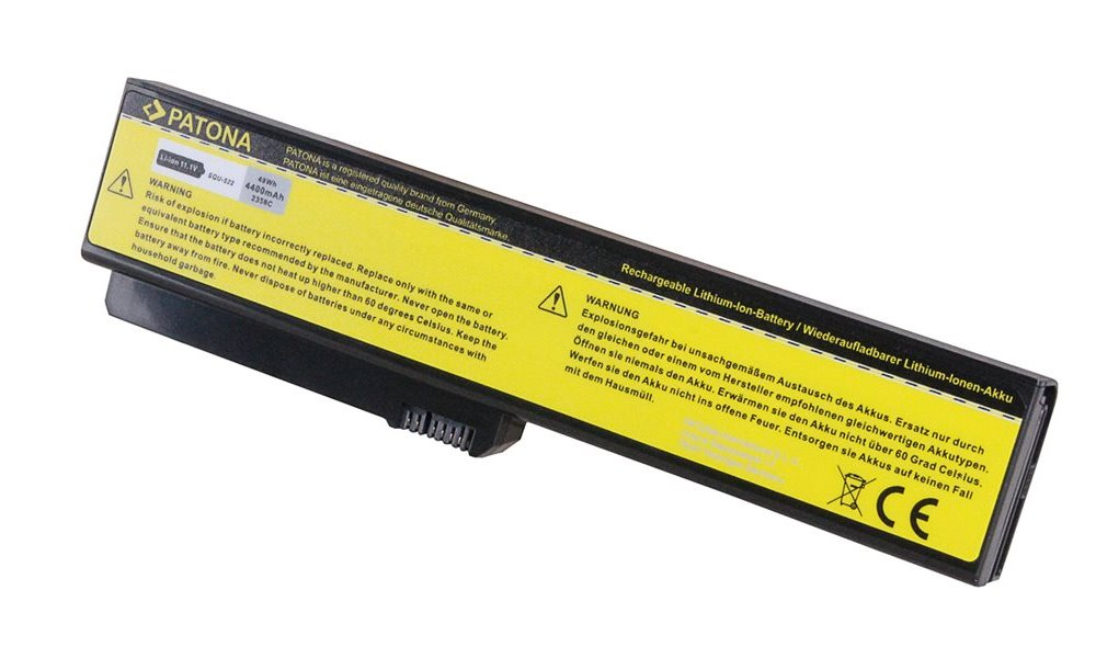 Baterie PATONA pro FUJITSU-SEIMENS 4400mAh Baterie, pro notebook FUJITSU-SIEMENS AMILO Si1520, 4400mAh, Li-Ion, 11,1V PT2358