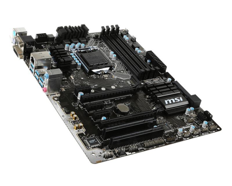 Základní deska MSI H170A PC MATE Základní deska, Intel H170, LGA1151, ATX H170A PC MATE