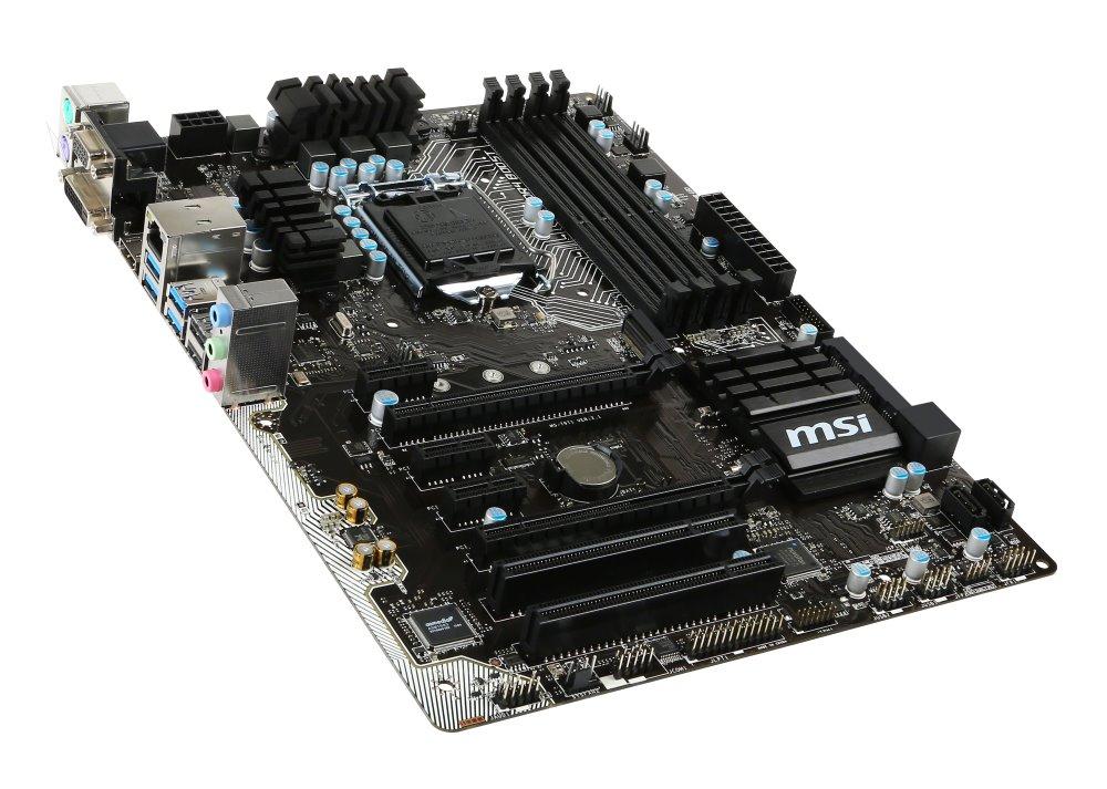 Základní deska MSI B150 PC MATE Základní deska, IntelB150, LGA1151, ATX B150 PC MATE