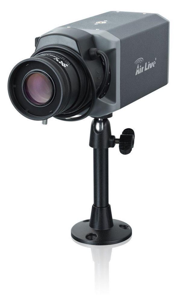 IP kamera AirLive BC-501IVS-4mm IP kamera, C/CS zá., POE, 5 MPix, 4mm objektiv, IR-CUT, SD slot, WiFi s X.USB BC-5010-IVS-4mm
