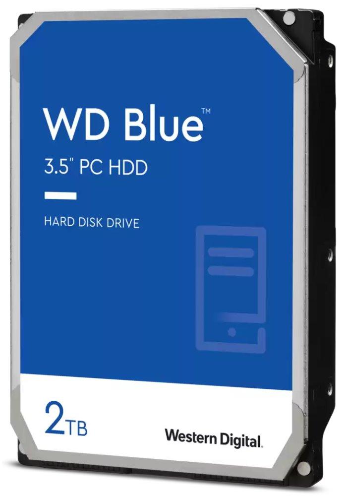 Pevný disk WD Caviar Blue 2 TB Pevný disk, SATA600, Interní 3,5, 5400RPM, 64MB WD20EZRZ