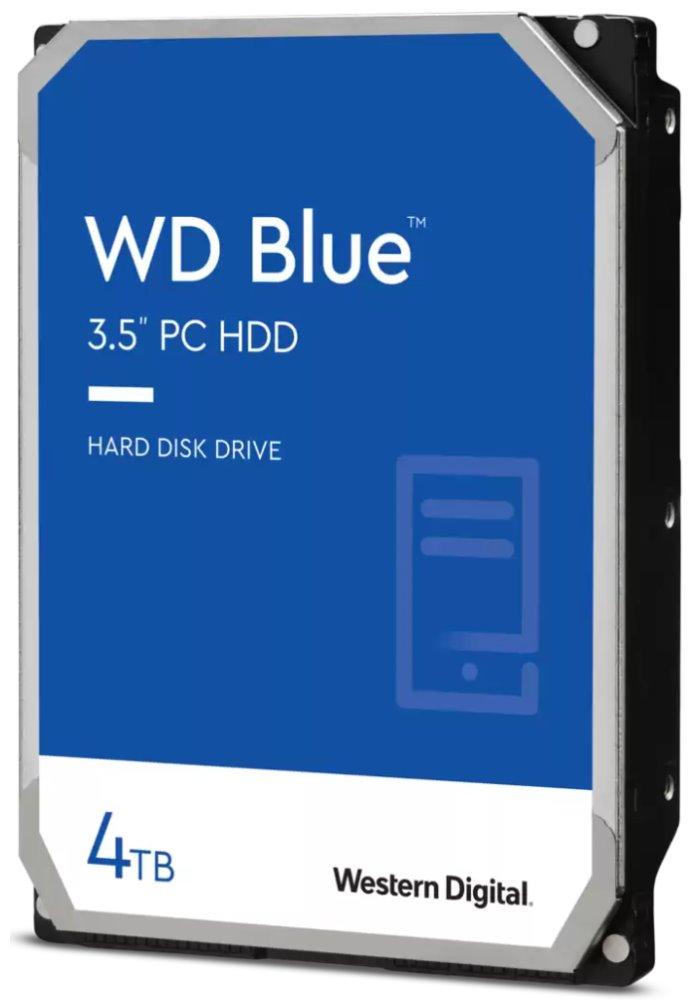Pevný disk WD Caviar Blue 4 TB Pevný disk, SATA600, Interní 3,5, 5400RPM, 64MB WD40EZRZ