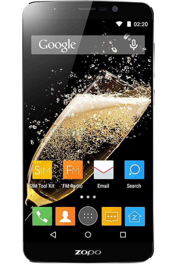 Mobilní telefon ZOPO ZP951 Speed 7 Mobilní telefon, dotykový, Octa Core 1.5GHz, 3GB RAM, 16GB, 5 FHD IPS, Android 5.1, 13.2MPx, LTE, dual SIM, černý ZOPOZP951BK