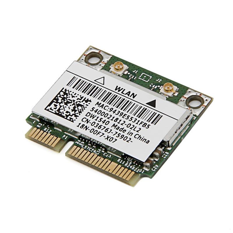 WiFi karta DELL Wireless 1540 WiFi karta, 802.11 a/b/g/n, PCIe, low profile, poloviční výška 555-BBZZ