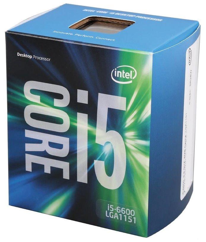 Procesor INTEL Core i5-6600 Procesor, 3.3GHz, 6MB, socket 1151, BOX BX80662I56600