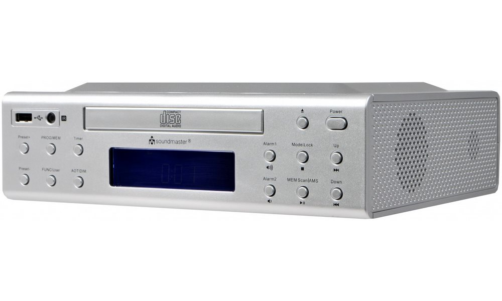 Rádio Soundmaster UR2050SI Rádio, kuchyňské, CD, USB, MP3, stříbrný UR2050SI