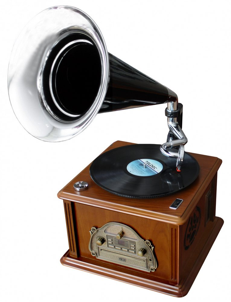 Gramofon Soundmaster NR912 Gramofon, CD, FM, 2x 25W, nostalgický NR912