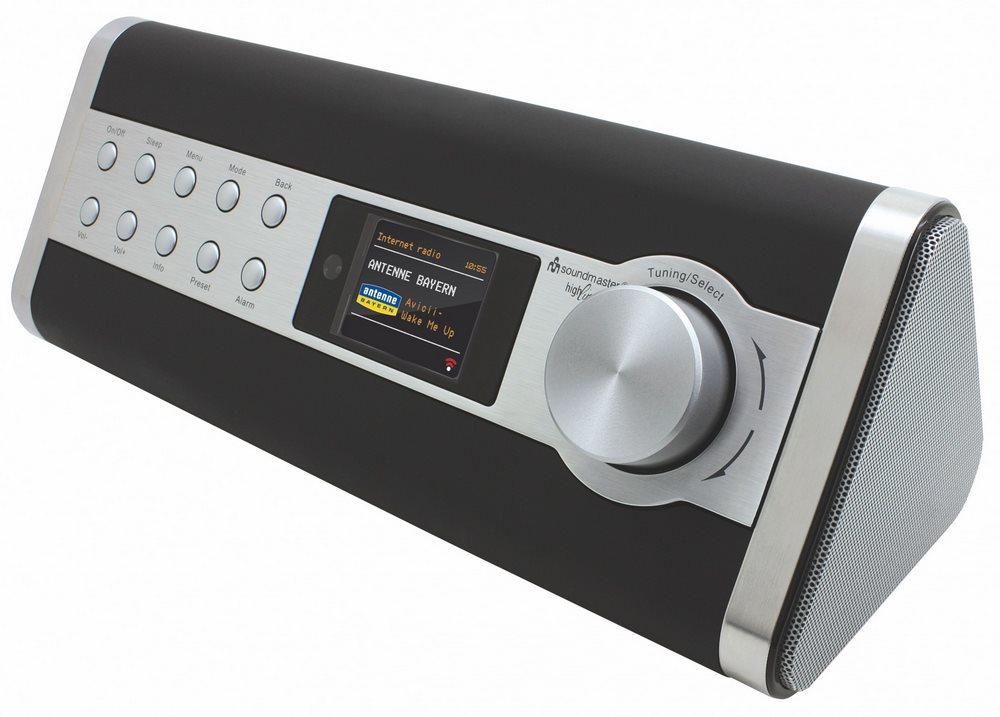 Rádio Soundmaster IR3000DAB Rádio, FM, 2.3 LCD, internetové - LAN, DO IR3000DAB